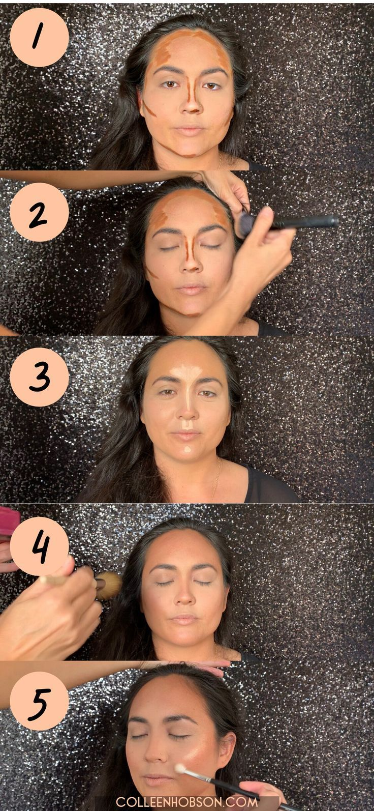 Photo of Create a beautiful chiseled makeup look with this easy to follow step-by-step co…