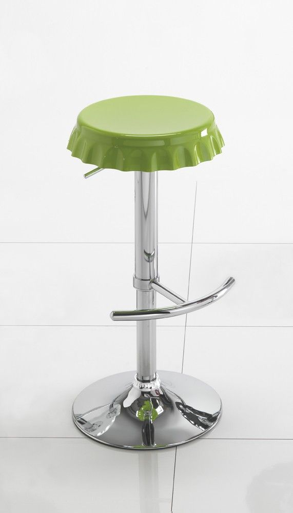 Sgabello design da cucina Tappo | Sgabelli design | Pinterest ...