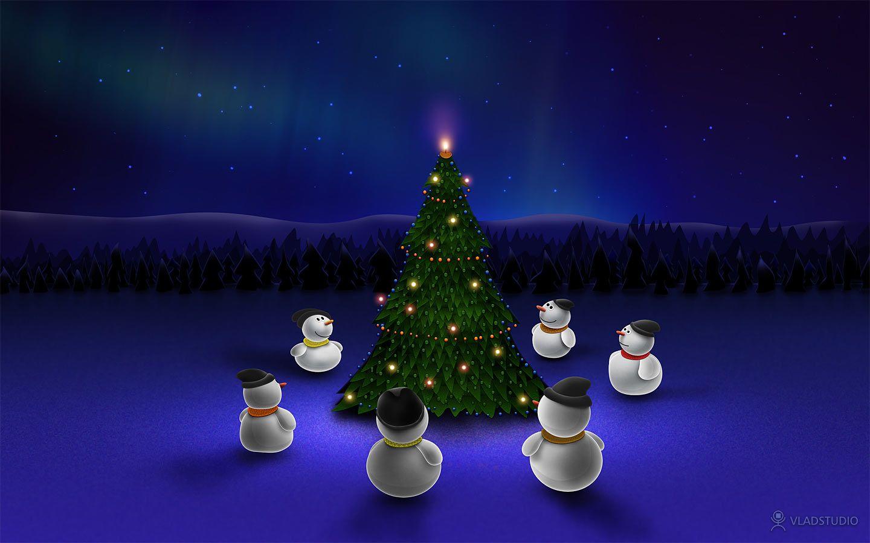 3d Christmas Desktop Wallpaper Download 3d Wallpaper 3d Santas