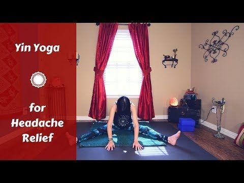 category yin yoga for headaches  yoga for headaches yin