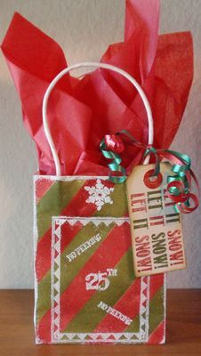 Stamps - Artistic Outpost Christmas Chalk