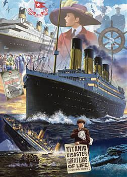The Titanic jigsaw puzzle by Masterpieces | Puzzling ...