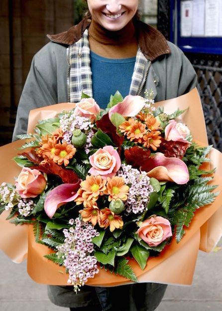 Fresh Floral Arrangement From The Kensington Flower Corner Just Around The Way From Our Newest Shop In Londo Kensington Kensington Gardens Floral Arrangements