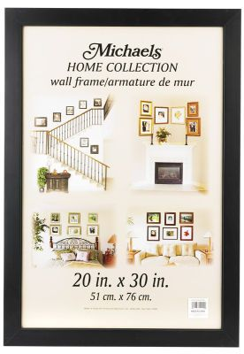 Black Studio Frames To Fit Digital Size Photos 20x30 Frames On Wall Frame Poster Frame