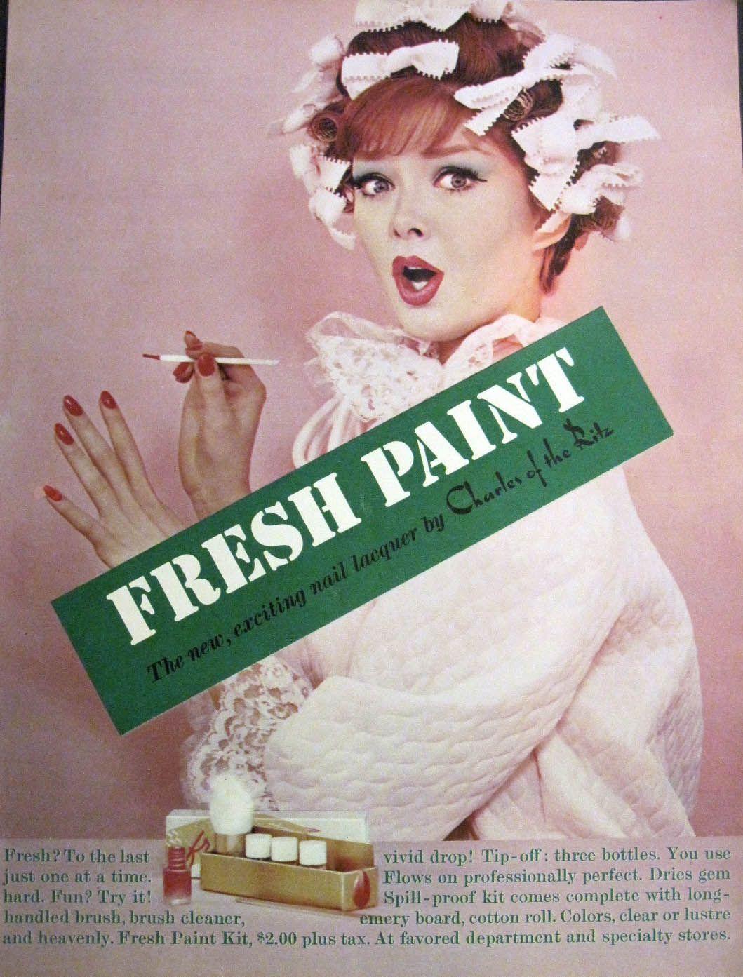 Vintage Nail polish Ad | Beauty, Charm and Poise | Pinterest ...
