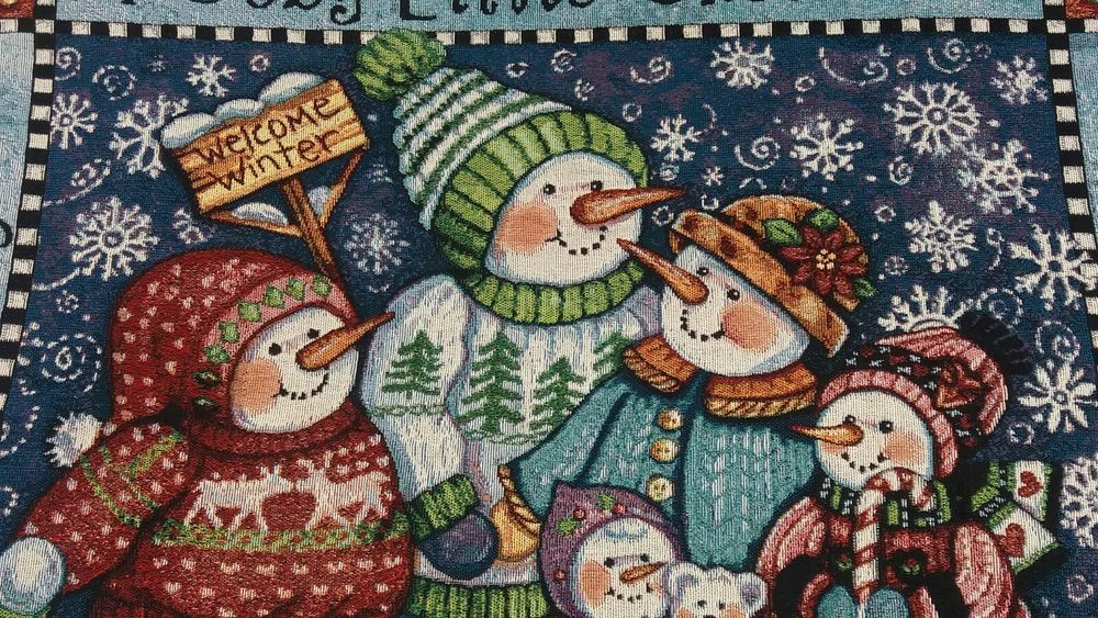 48x68 IRISH BLESSING Ireland Shamrock Clover Tapestry Afghan Throw Blanket