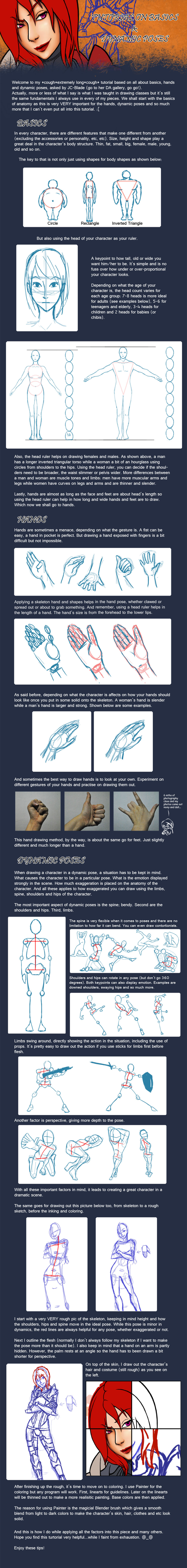 Guide to Characters and Poses by vickie-believe.deviantart.com on @deviantART