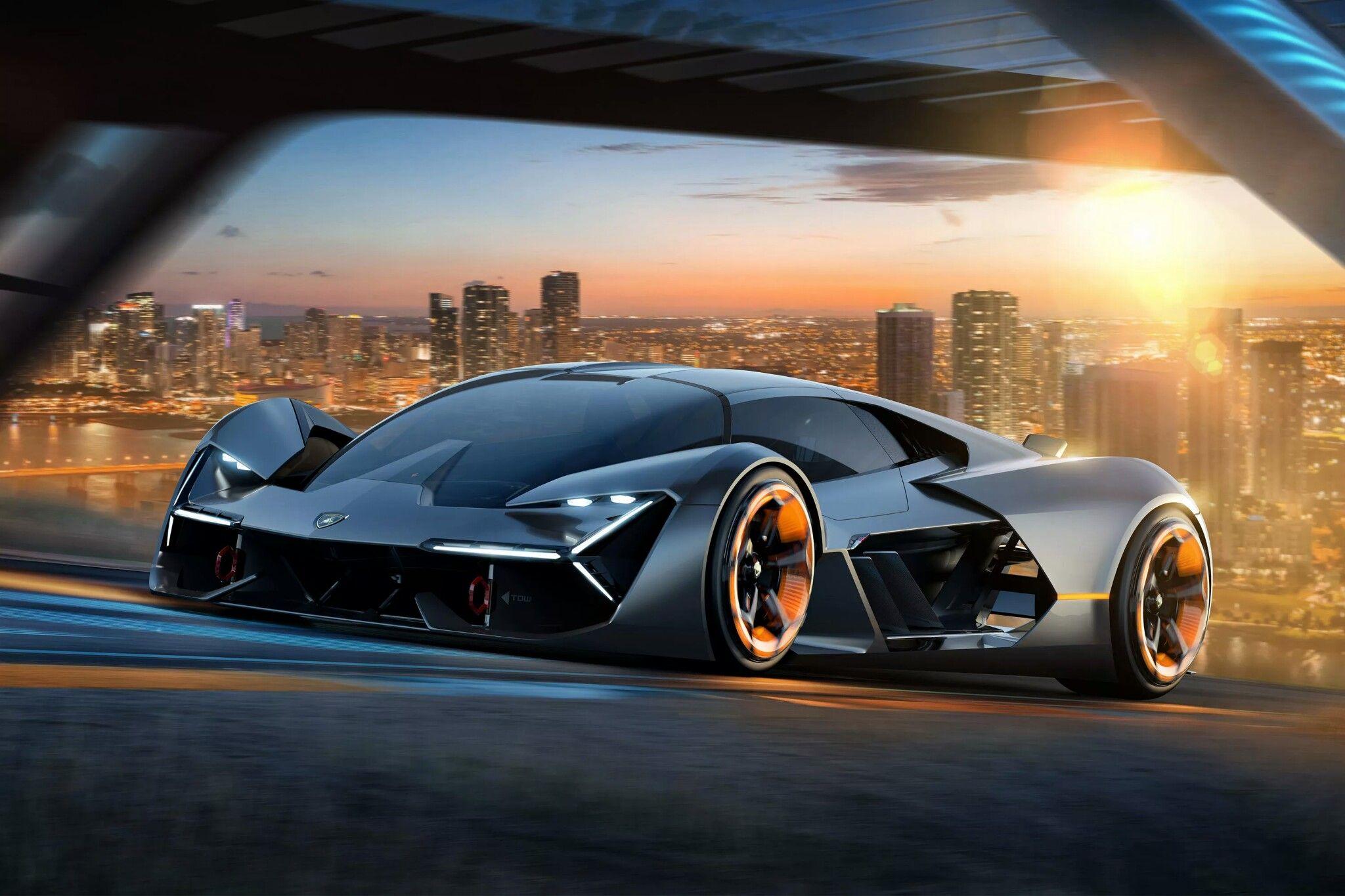 Lamborghini Terzo Milenio Electric Concept Car