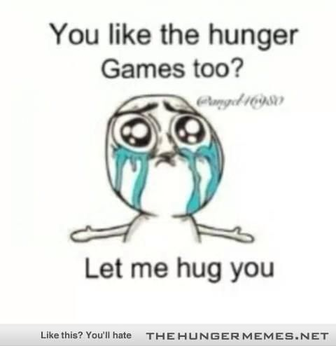 The Hunger games - Fandom hug :)