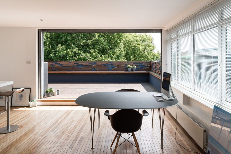 Positioned high above Hoxton Square with spectacular views