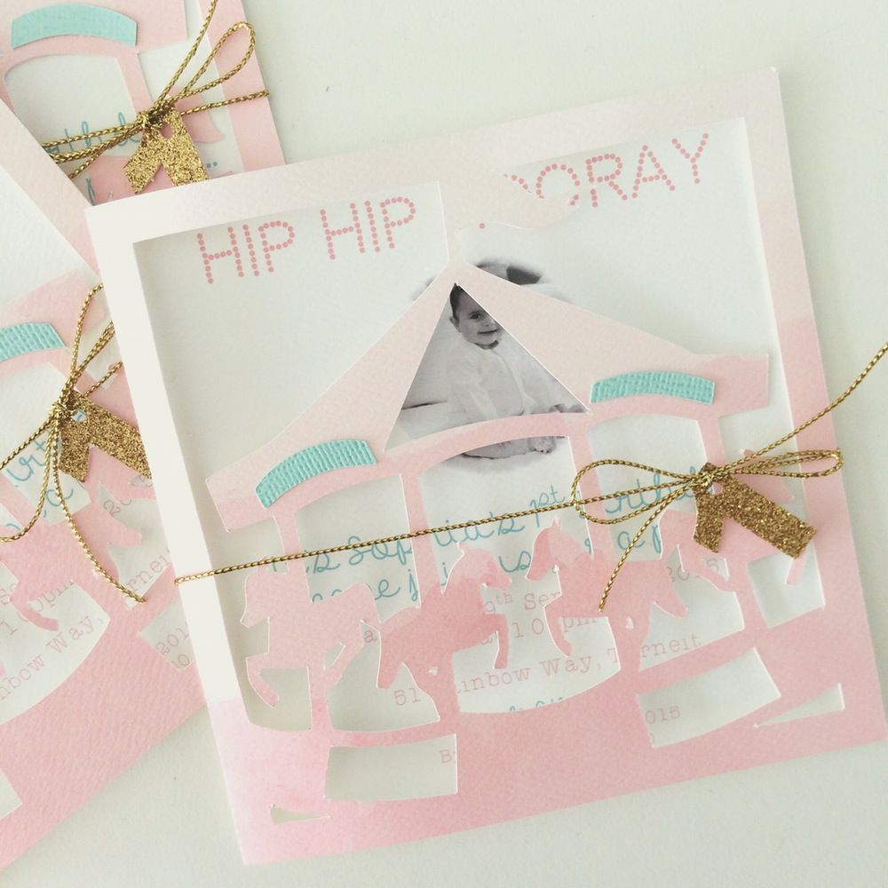 Carousel party invitations – Carousel Party Invitations
