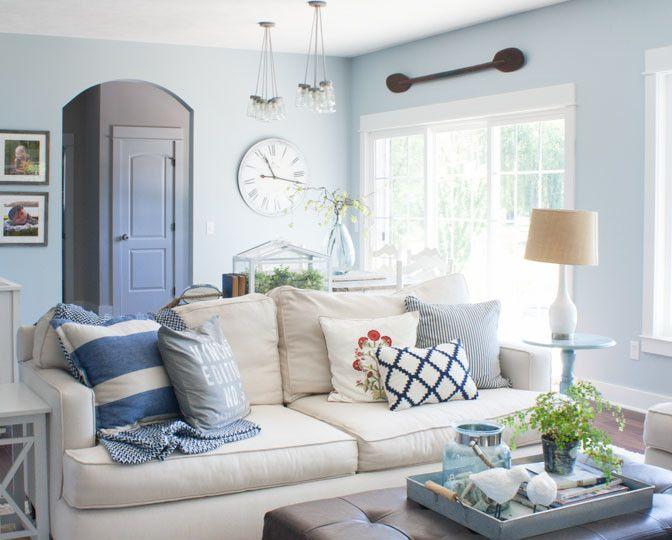 Inspiration Blue Paint Living Room Light Blue Living Room Blue Walls Living Room