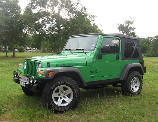 Yes My 3rd Jeep Wrangler But This Time In Electric Lime Green