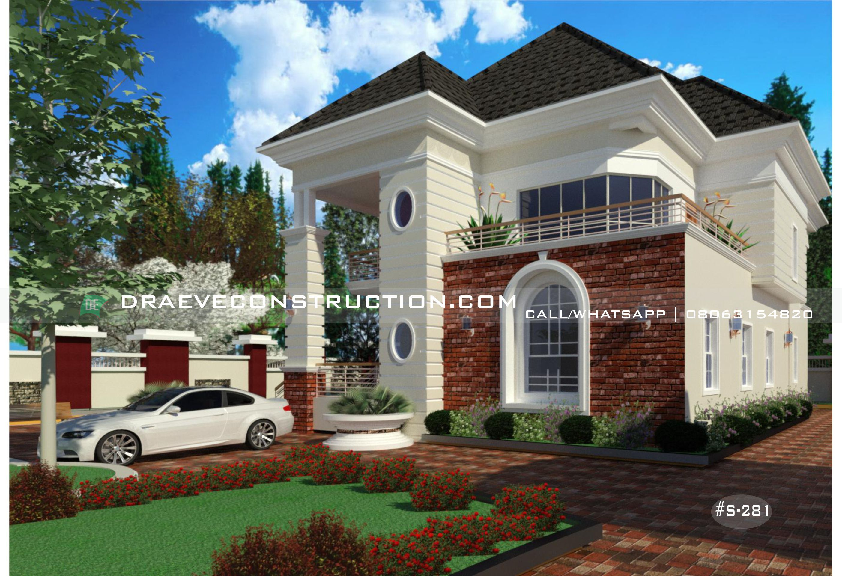 4 Bedroom Duplex Houseplan With Sunbath Sitout Architect Design House House Plan Gallery Classic House Design