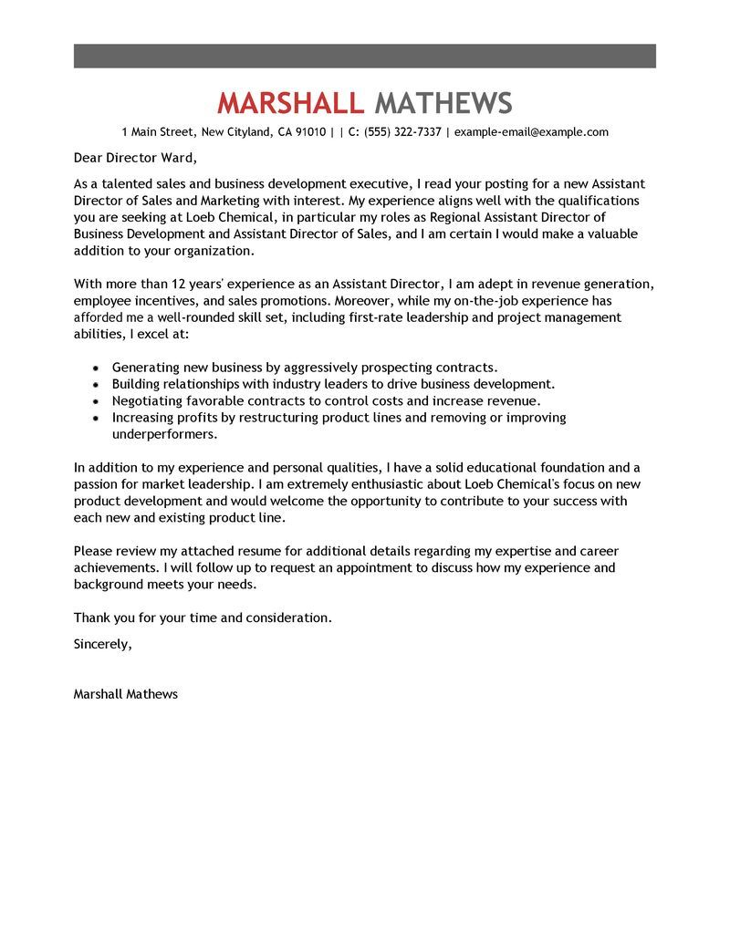 23+ Cover Letters For Resume Cover letter for resume