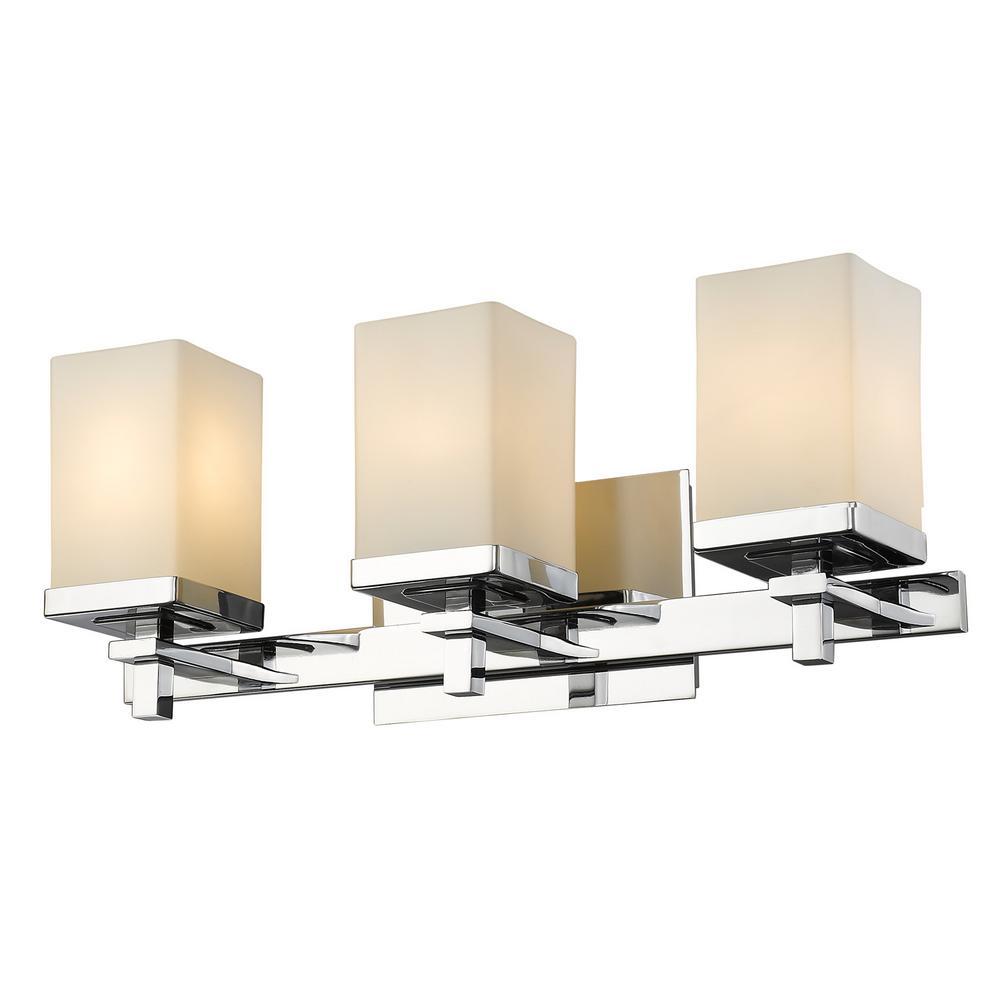 Laurel Designs Maddox 3 Light Chrome Bath Light Home The O Jays