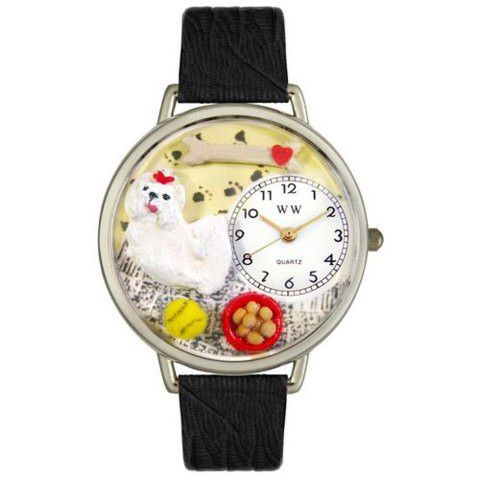 The Maltese themed Watch shows off the silky whitehaired
