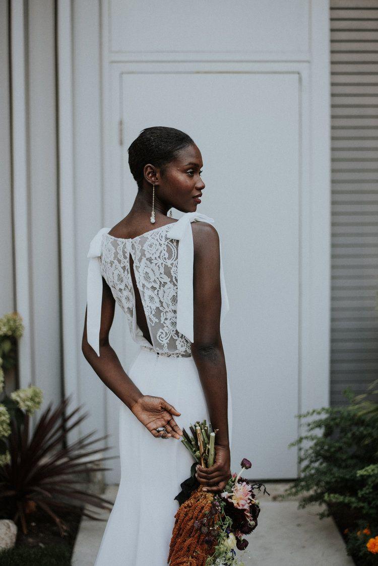 Chicago gown designer Sarah Varca bridal gown | Allie Appel ...