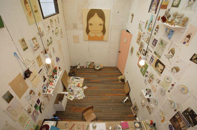 Nara's Japan studio
