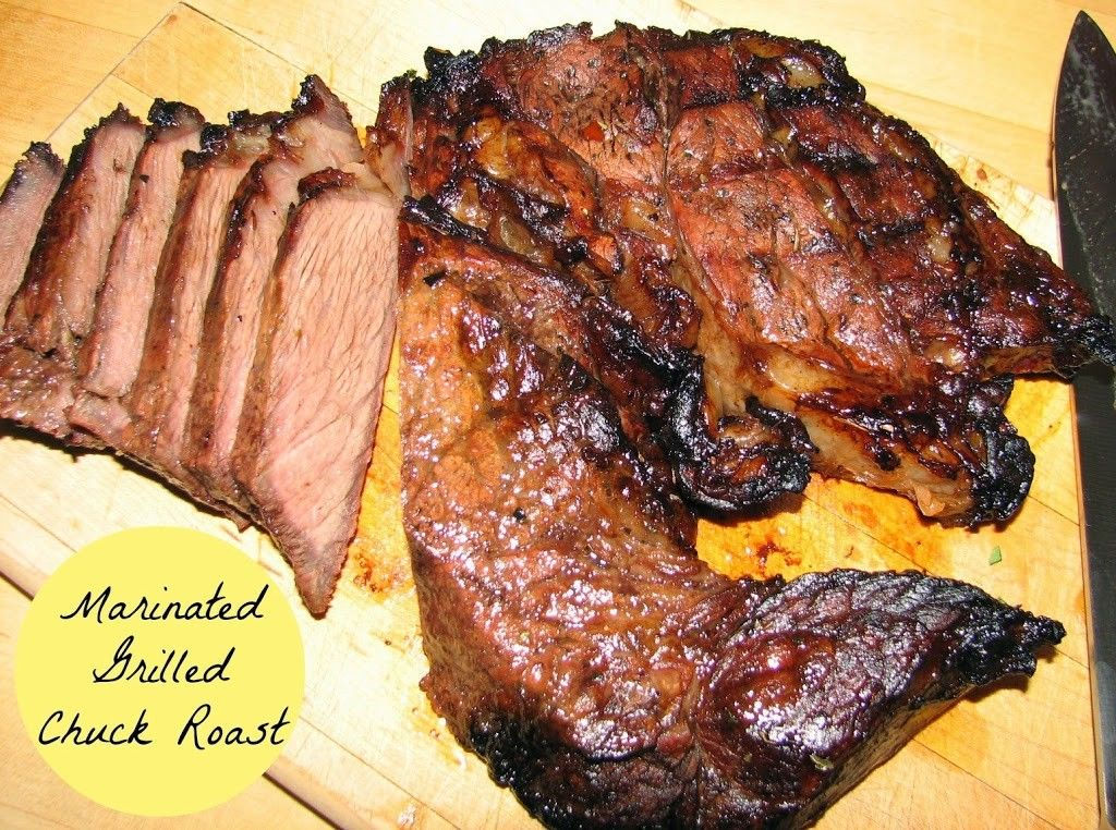 Marinated Grilled Chuck Roast Do It All Working Mom in