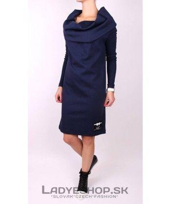 Dámske modré šaty