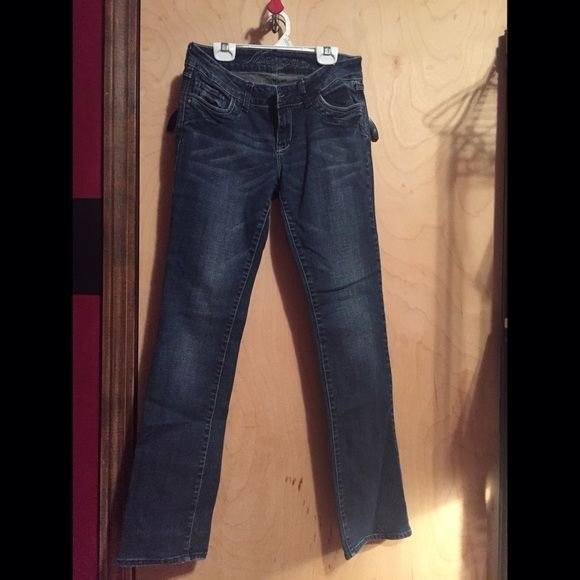 Delia's Morgan Blue Straight Jeans Size 5 / 6 R Delia's Morgan Blue Straight Jeans Size 5 / 6 R Delia's Pants Straight Leg