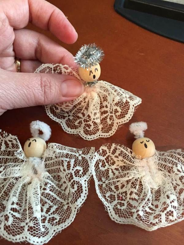 Lacy angels with eclecticSoapbox
