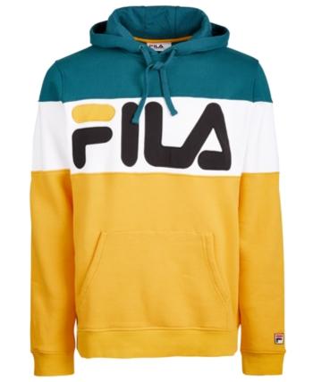 Fila Men's Flamino Hoodie - Orange XL