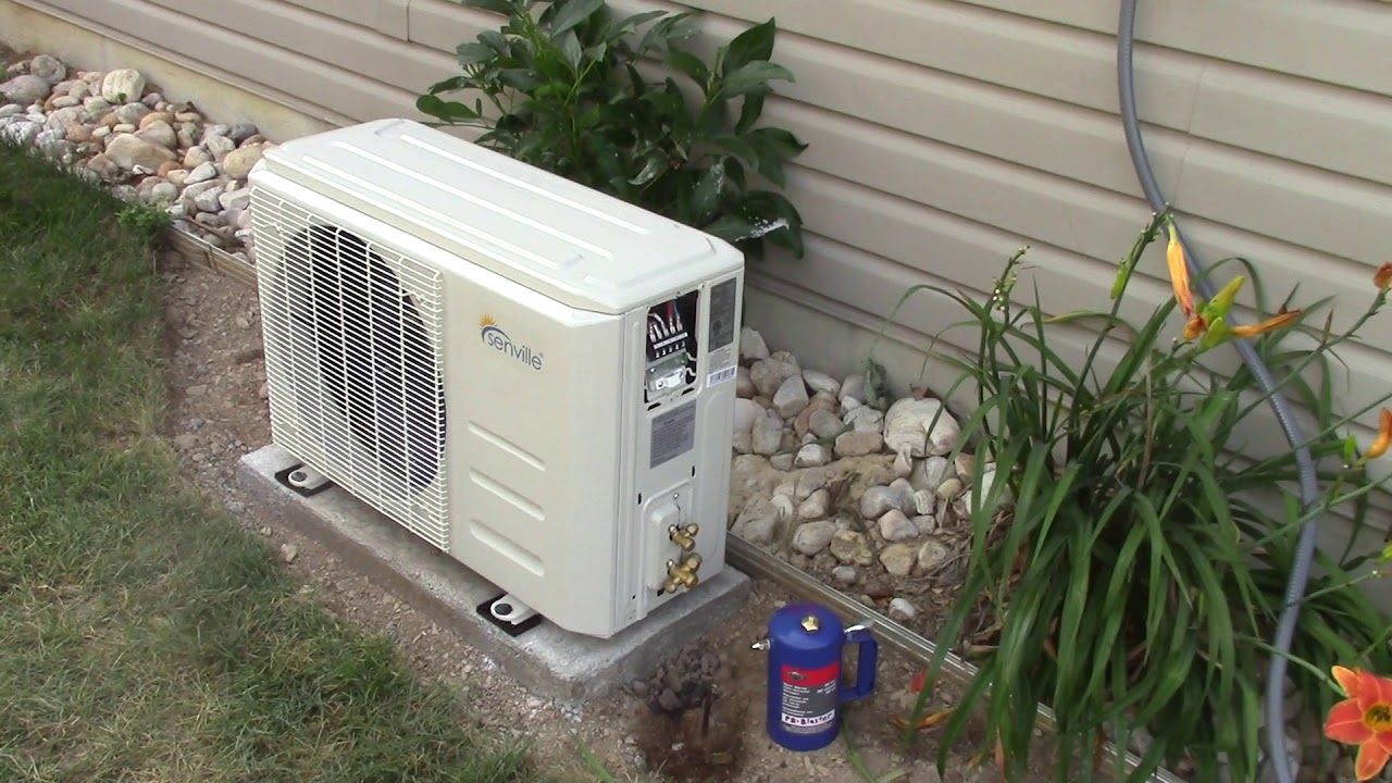 Part 1 Senville Mini Split A/C Heat Pump Installation