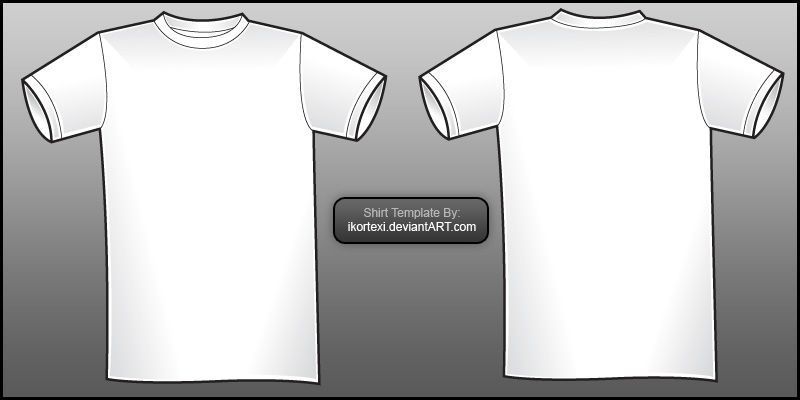 TShirt Templates For Download That Are Bloody Awesome