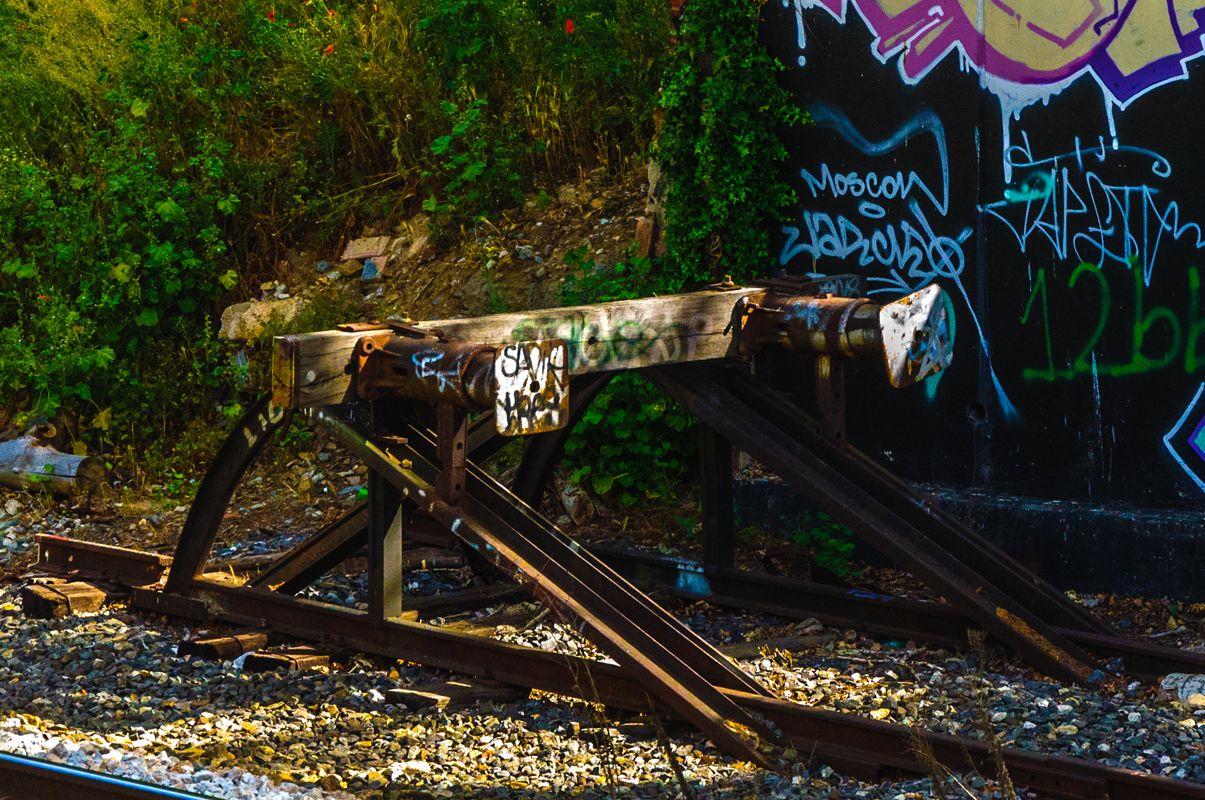 📷 @jlajaus 2017. Madrid, los grafitos del Parque de la Bombilla