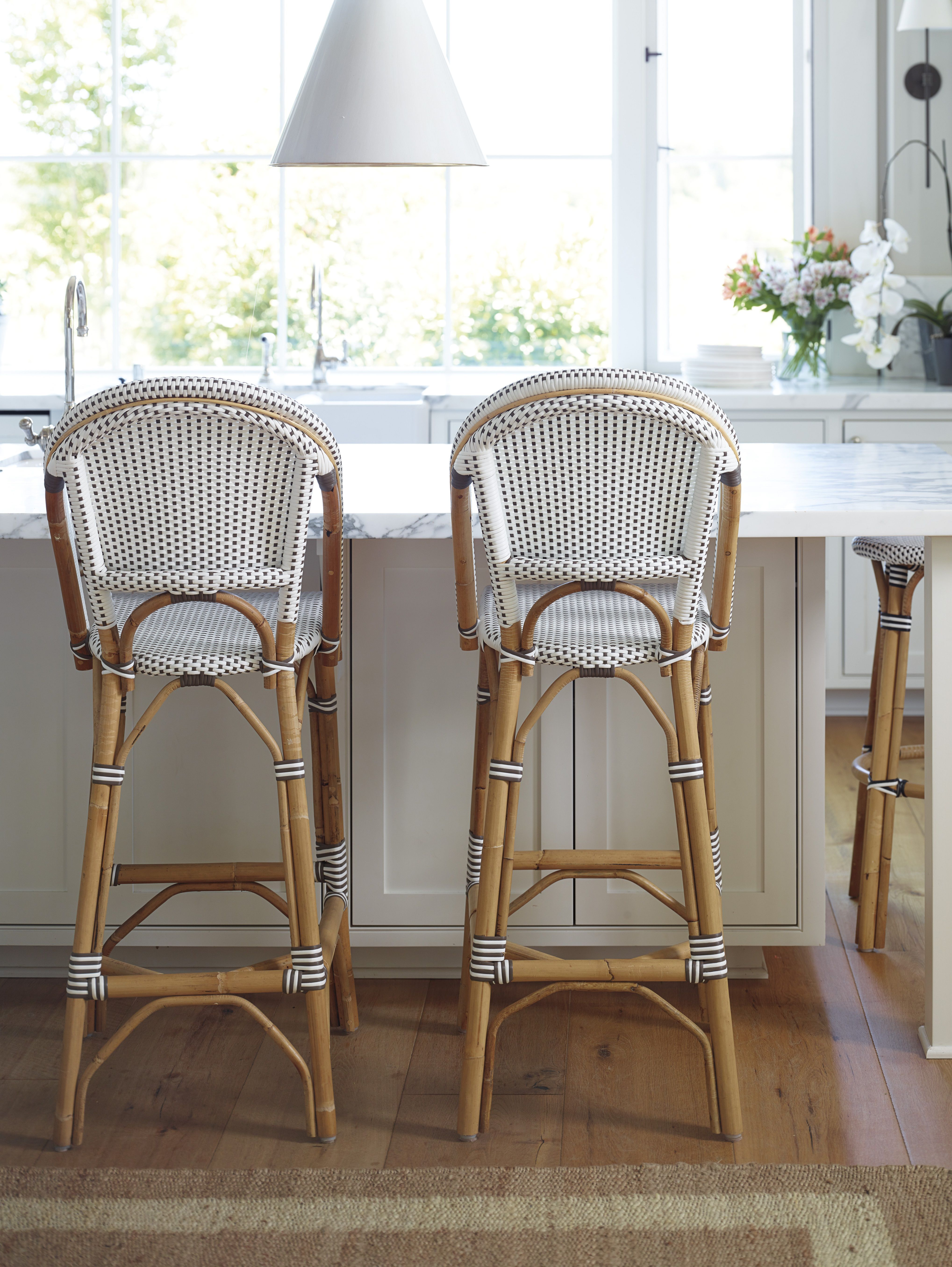 Riviera Stools Via Serena Lily Home Decor Home Bistro Chairs