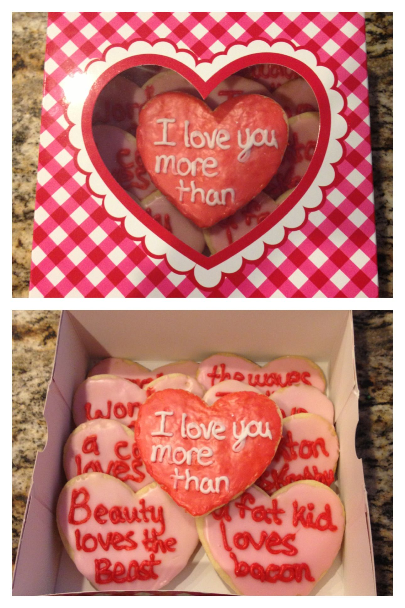 Cute For A Boyfriend Or Husband On Valentine S Day 3 I Love You More Than Valentine Gifts Easy Valentine Crafts Valentine Crafts For Kids
