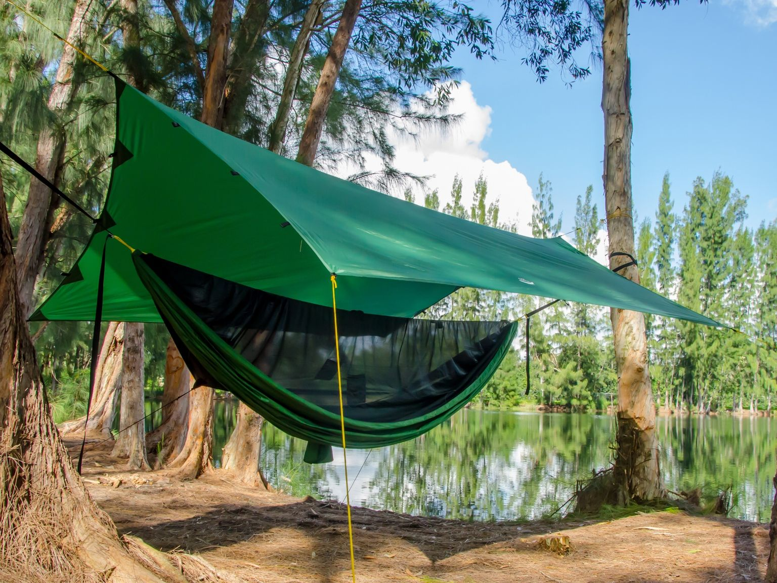 ultimate how a gear hang with camping guide camp pack to hammock cold weather sleep
