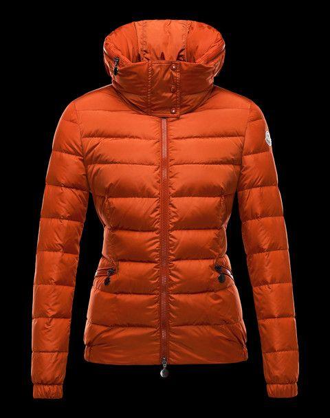 Doudoune Moncler Sanglier Femme Orange   Things I like   Pinterest ... f61974cd346
