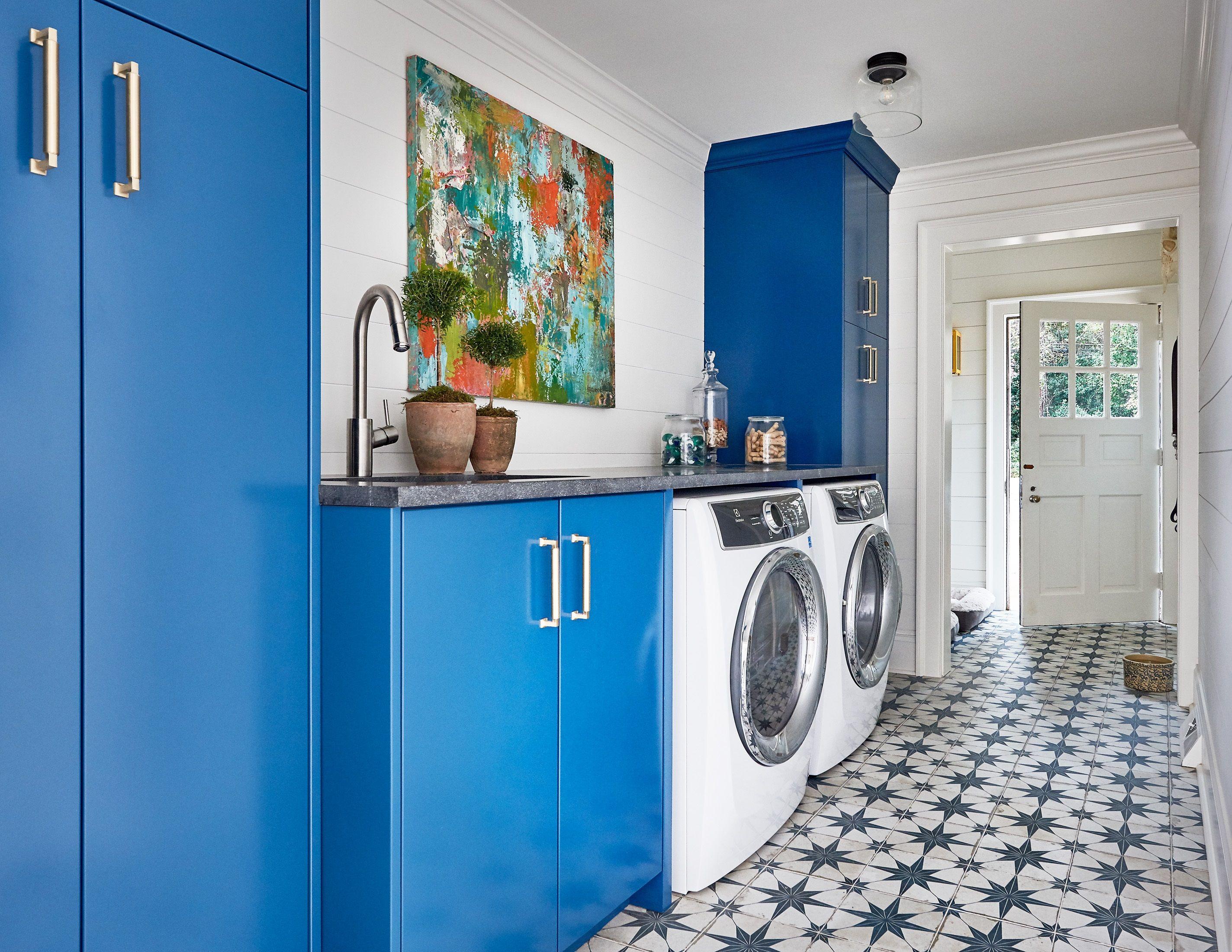 The Vintage Look Of Star Blue Ceramic Tile Effortlessly Brings Out