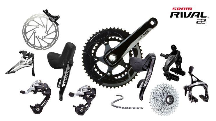 Sram Rival 22 Groupset Bike Road Bike Bicycle Components