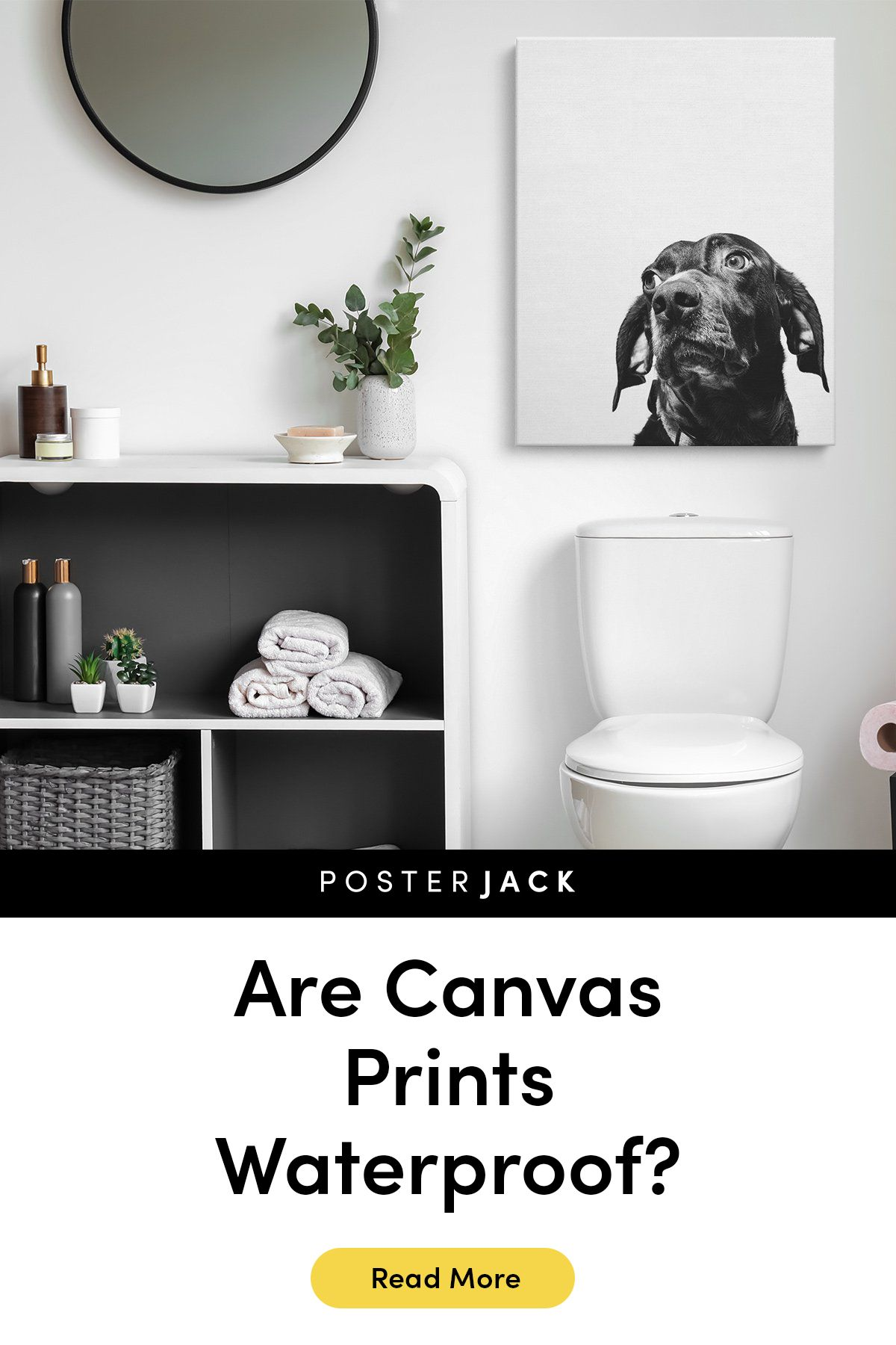We Get A Lot Of Questions About Whether Our Canvas Prints Can Get Wet Whether You Want To Hang Your Print In The Bathroom Clean O Canvas Prints Prints Canvas