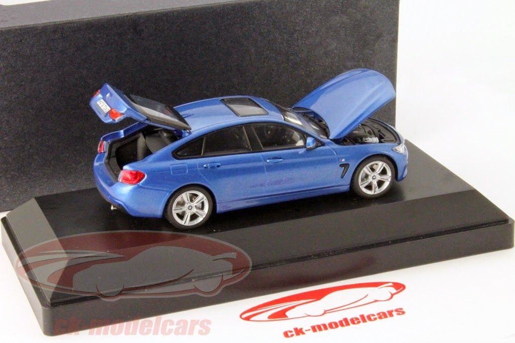 Kyosho BMW Er Series F Gran Coupe Blue Scale Model - Bmw 4 series models