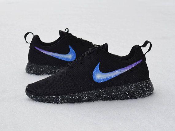 dcc4641b0d50a New Nike Roshe One Custom Galaxy Roshes Run Mens Womens Kids Shoes ...