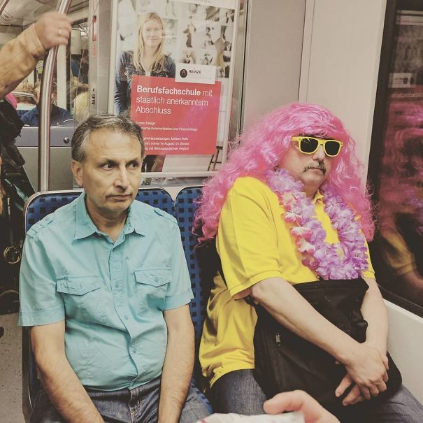 26 of the most weird people spotted on subway humaty 1 pinterest