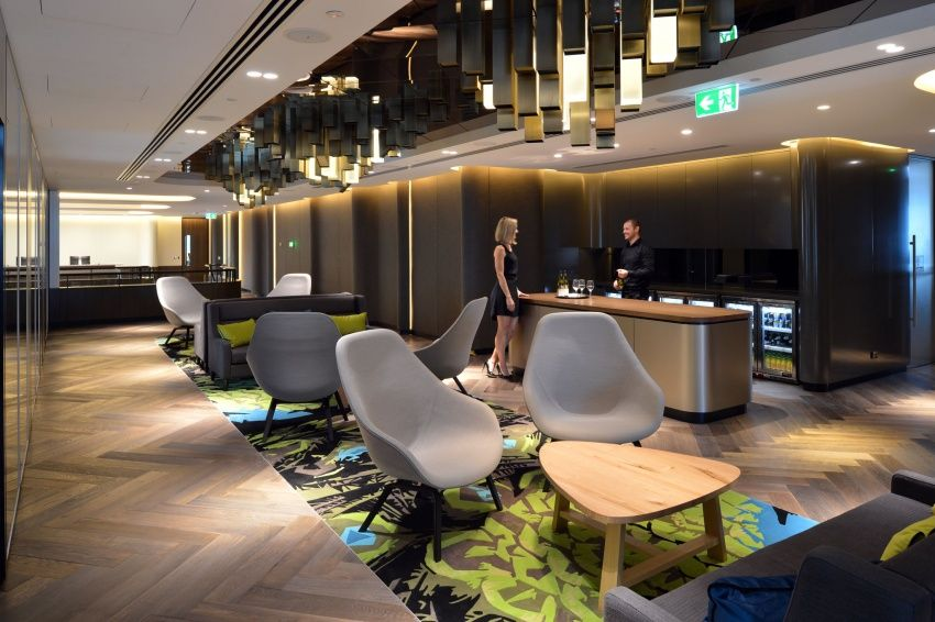 What office would be complete without an open bar where for Interior design agency sydney