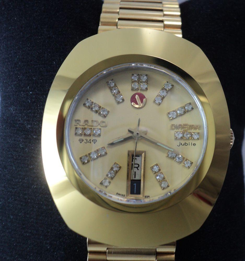 100 Original Genuine Rare Authentic Rado Diastar Automatic Men S Wrist Watch Wristwatch Men Vintage Watches Watch Sale