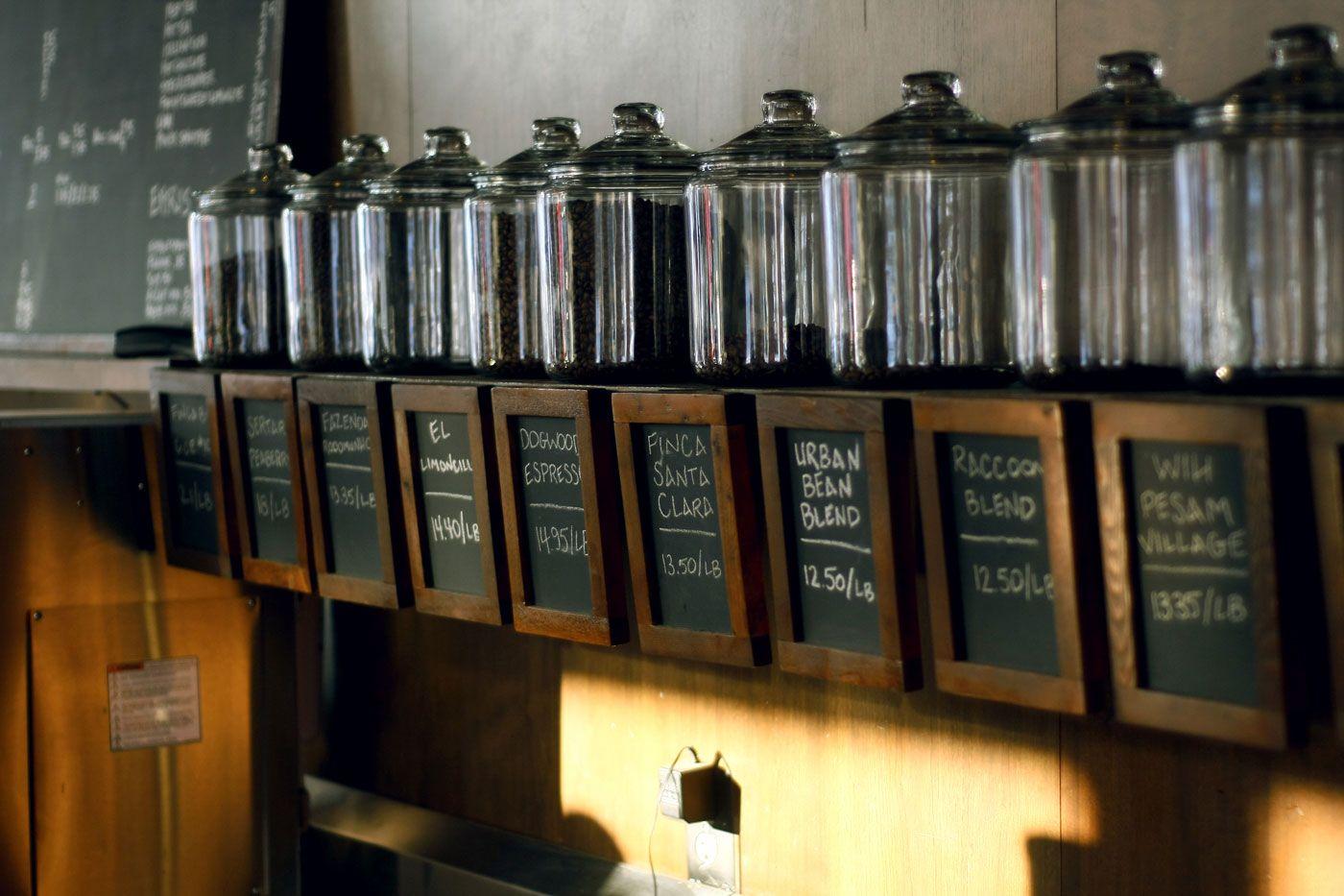 Urban Bean Coffee Uptown Minneapolis Coffee Shop Coffee Shop Coffee Display Coffee Shop Decor