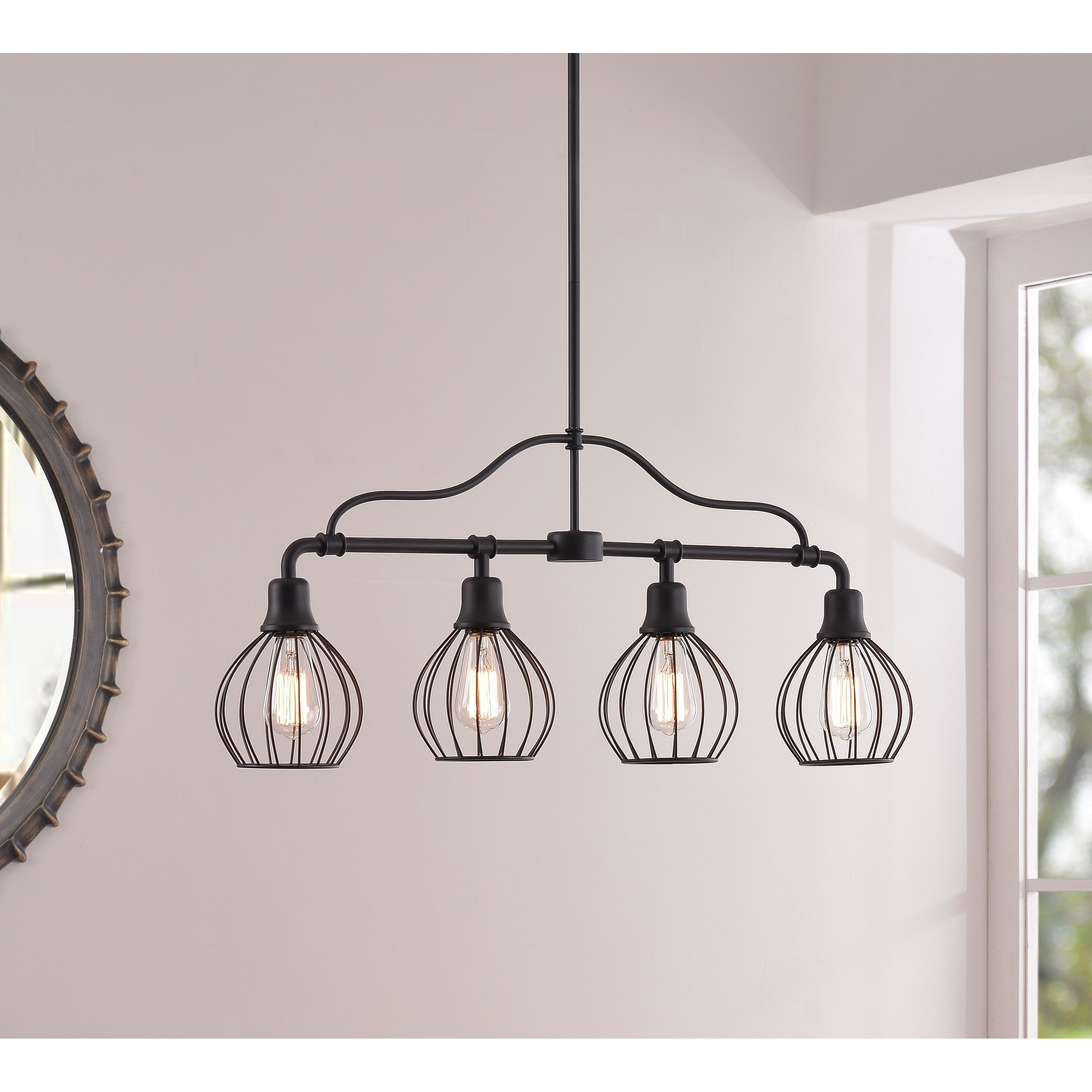 Phenomenal Amelia 4 Light Island Light Black Finish Products In Download Free Architecture Designs Scobabritishbridgeorg