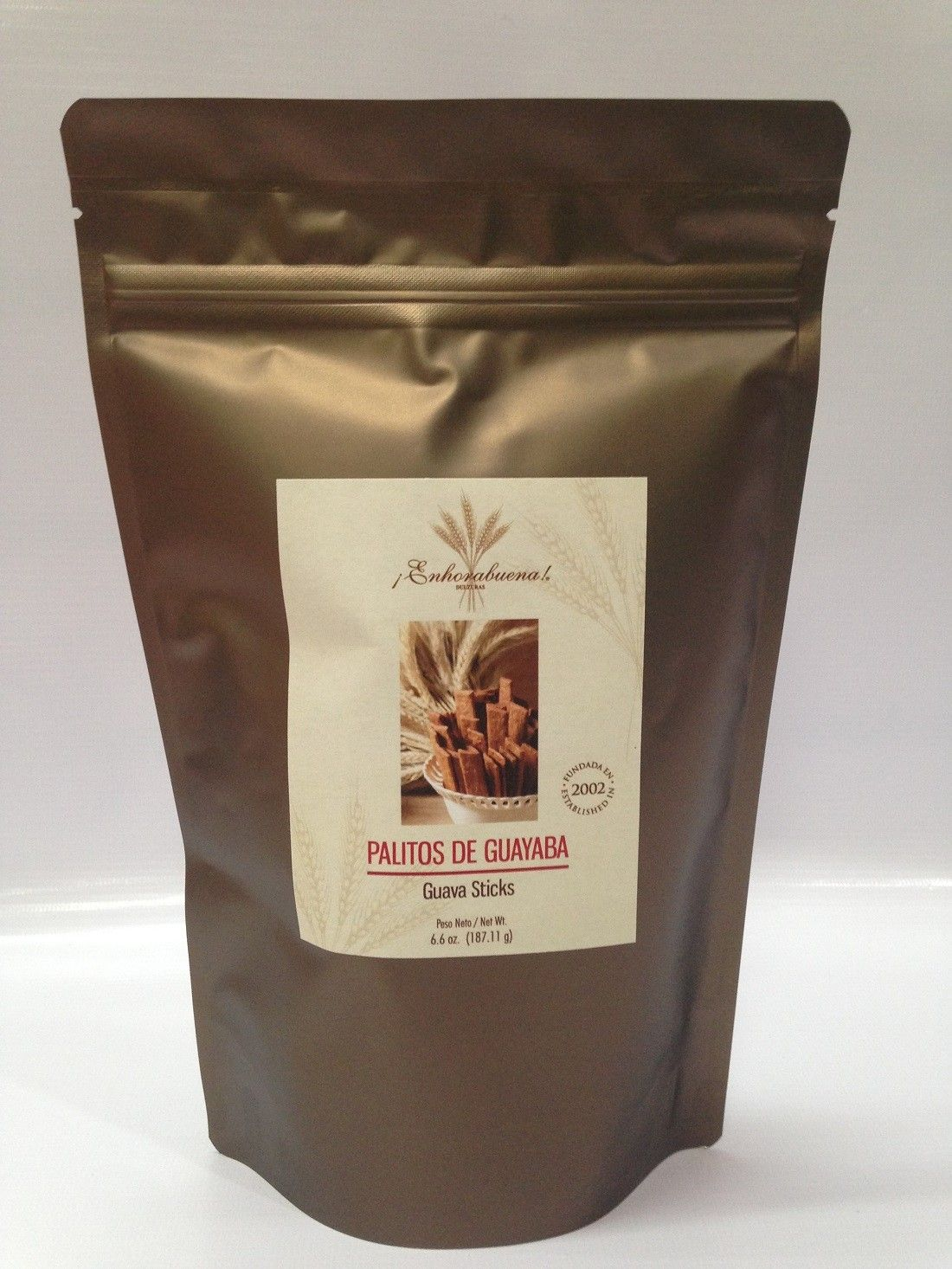 Guava sticks bag are delicious sweet treats made in Puerto Rico. Order yours now!!