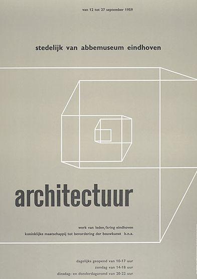Architectuur werk van leden #poster c1959 // Brands like us*
