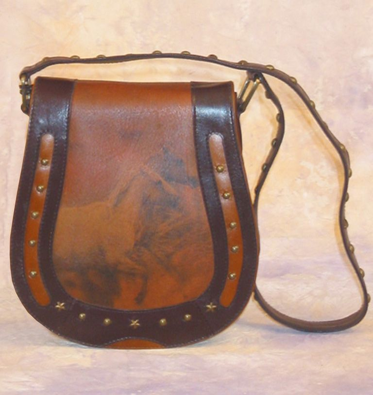 361a67a9ae8 Cheyenne Horses Leather Purse - The Western Vault | Style & Swagger ...