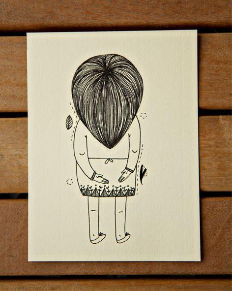 Obra Sem Título e Sem Rosto - Renata Miwa