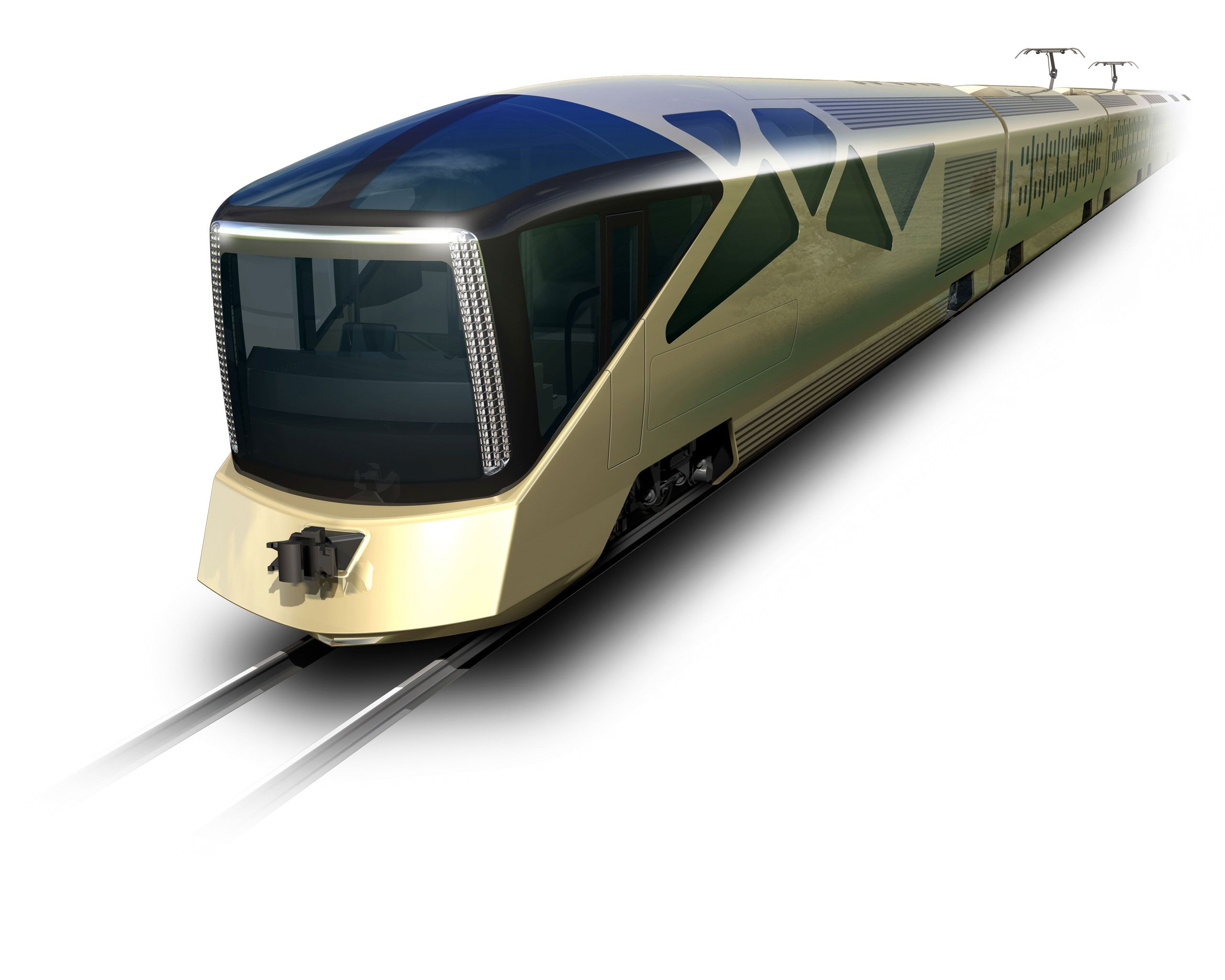 Japan has unveiled several new luxury trains, most recently East Japan Railway Company's Cruise Train, designed by Ferrari designer Ken Okuyama. Here's a look at the new opulent way to travel around Japan's most scenic routes